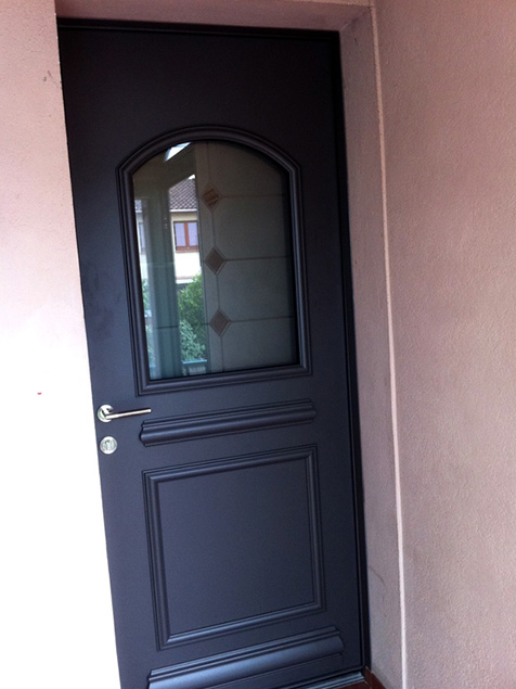 Portes D Entr E En Pvc Aluminium Pictures To Pin On Pinterest